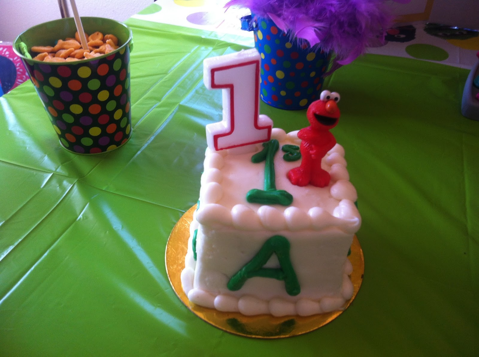 Sesame Street Birthday Party Because every birthday deserves a