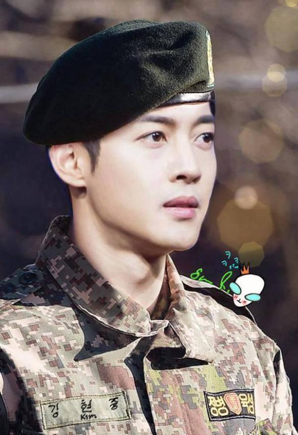 Kim Hyun Joong Military Service