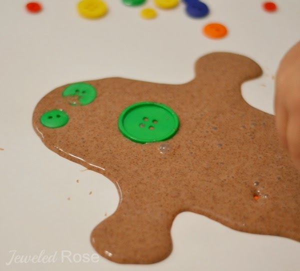 Gingerbread slime recipe