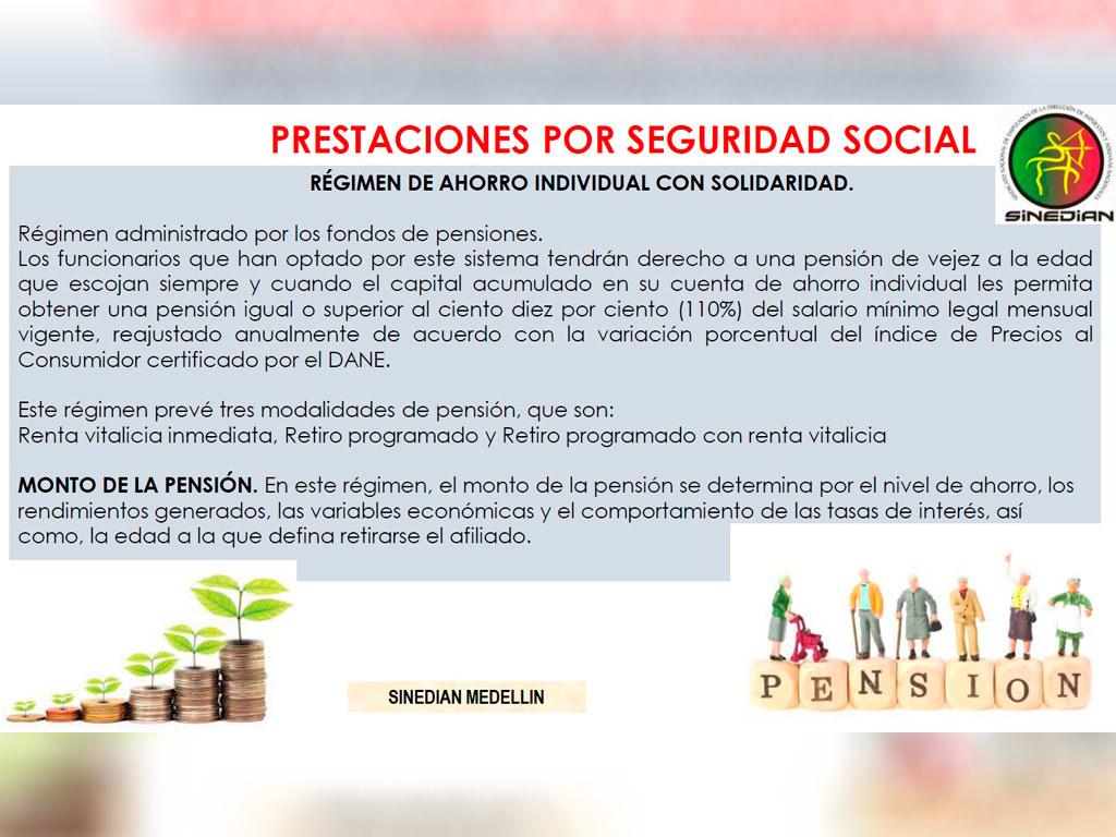PRESTACIONES POR SEGURIDAD SOCIAL
