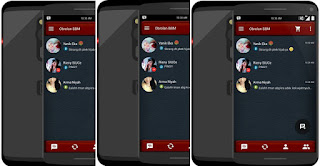 BBM MOD Leather Messenger V2.9.0.51