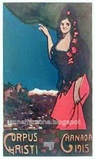 Granada - CORPUS 1915 - Enrique Hitos