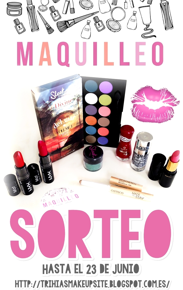 Sorteo en Trihia's Make Up Site