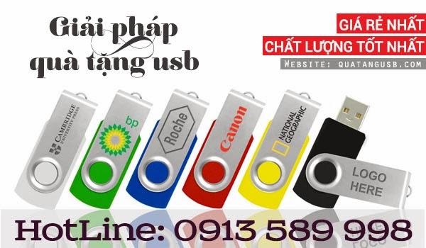 QUÀ TẶNG USB - Quà tặng 20-11
