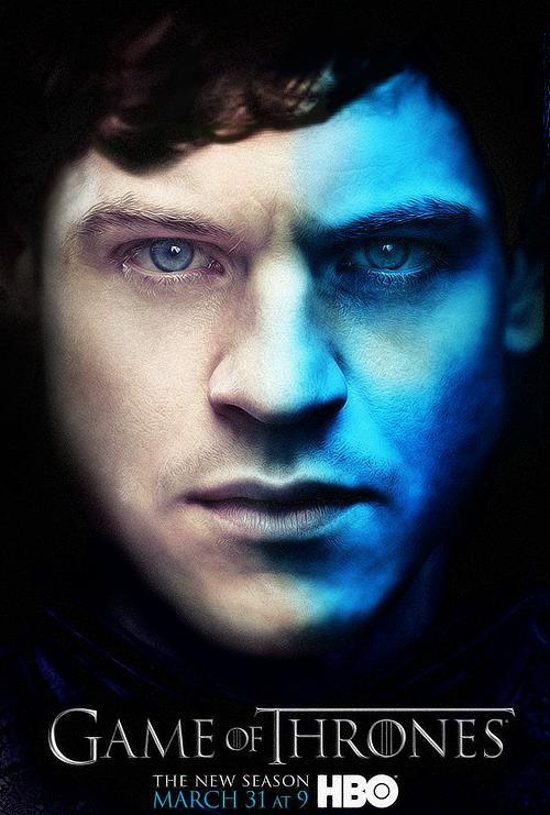Ramsay Nieve Bolton póster 3T - Juego de Tronos en los siete reinos