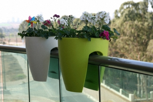Balcony Straddle Planters