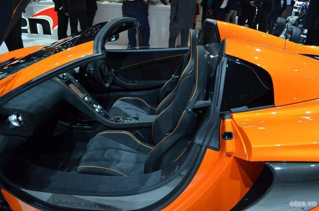 Xe McLaren 650S Spider đầu tiên về Việt Nam