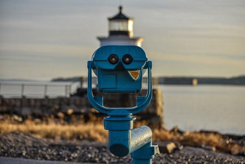 South Portland, Maine New England Bug Light Lighthouse Park photo by Corey Templeton March 2014