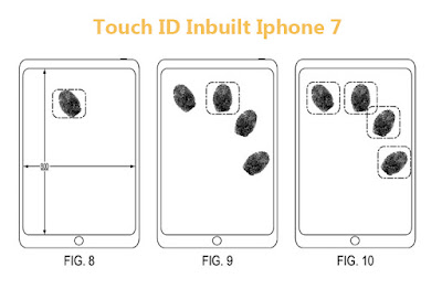 iphone 7 Touch ID Inbuilt