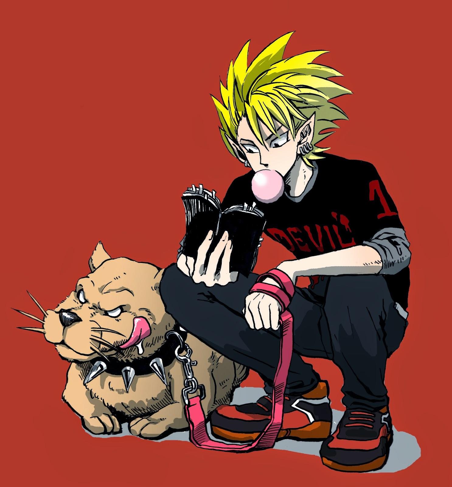 7 karakter utama anime yang memiliki anjing peliharaan