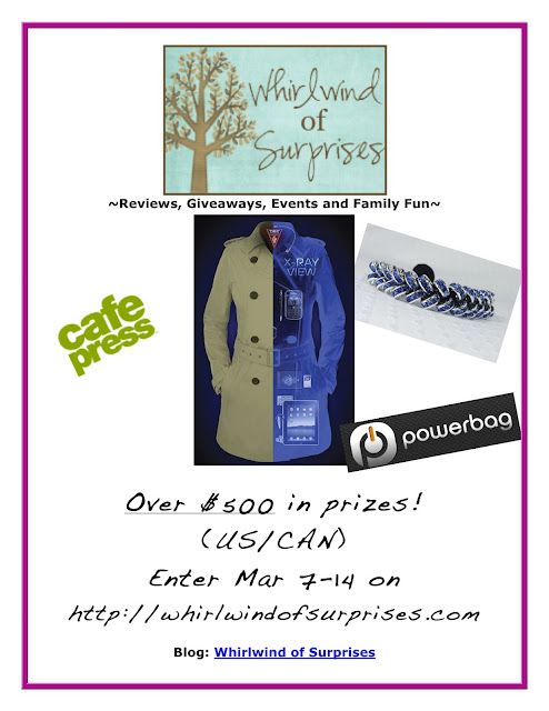 Spring Fashionista Giveaway prizes