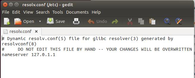 Setting DNS Ubuntu.by blog tampilan linux