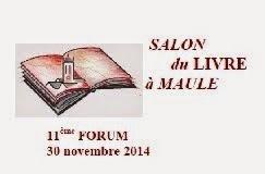 Dédicace au Salon du Livre de Maule, le 30 novembre