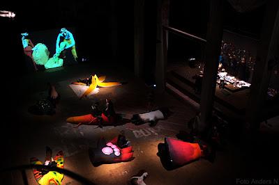 röda sten, interiör, inne, inomhus, nathalie djurberg, natalie, hans berg, utställning, installation, kulturnatta, 2012, göteborg, tsyfpl, foto anders n