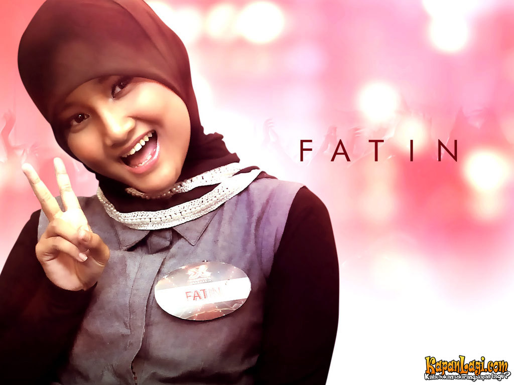 Wallpaper Seksi Fatin Shidqia Lubis X-Factor Indonesia