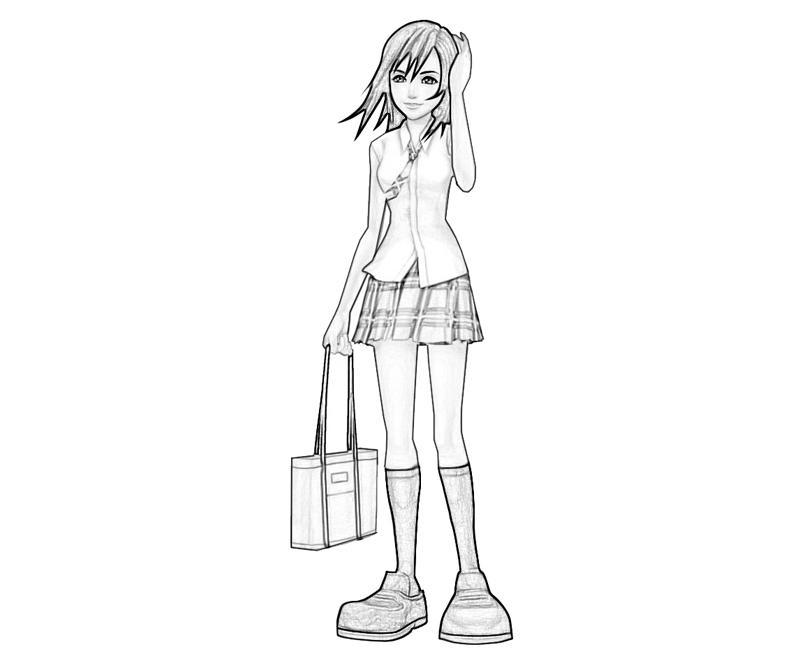 kairi-character-coloring-pages