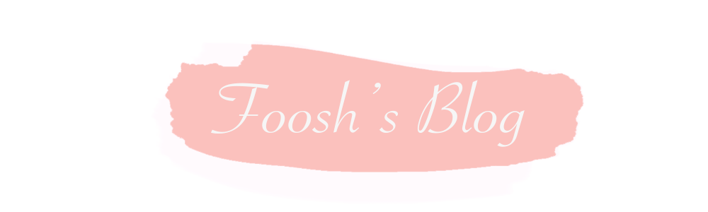 Foosh's Blog