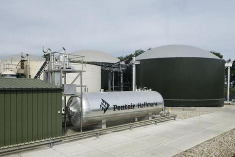 First biogas upgrading plant in the UK to be equipped with Pentair Haffmans' technology