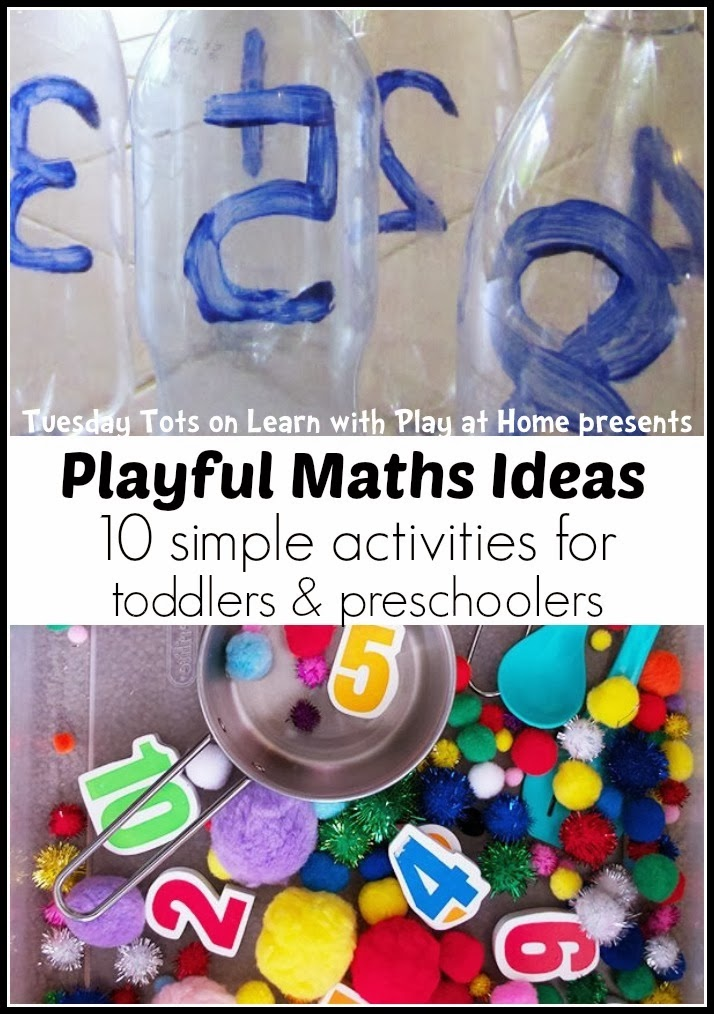 Learn with Play at Home: Playful Maths Ideas. 10 simple activities ...