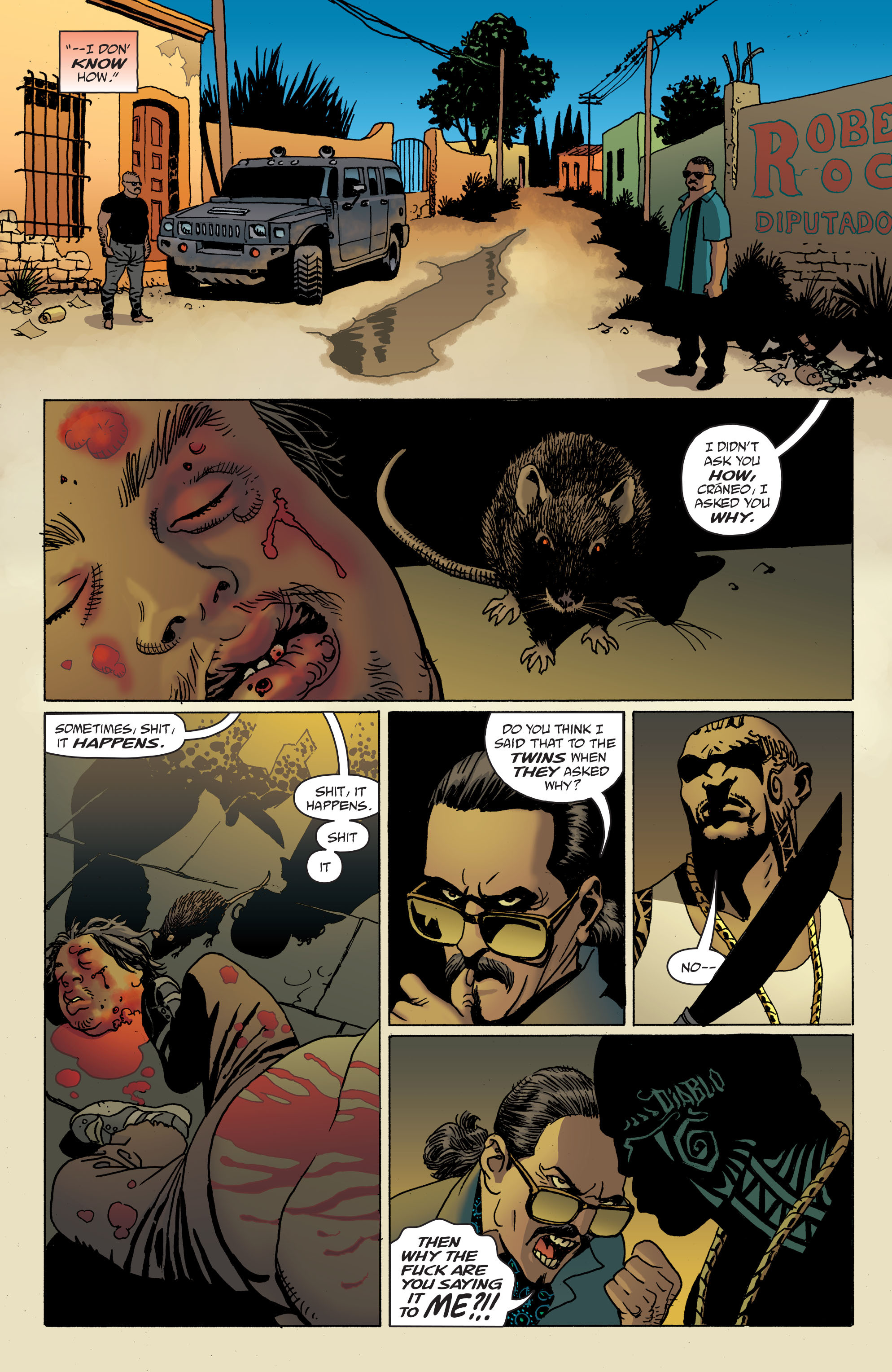 100 Bullets: Brother Lono Full Page 67