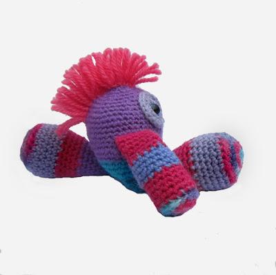 """""""Shaggy Tops"""" Cute Monster Crochet Softies"""