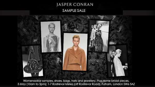 Jasper Conran sample sale