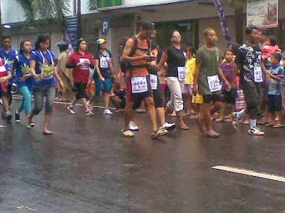 peserta perorangan gerak jalan