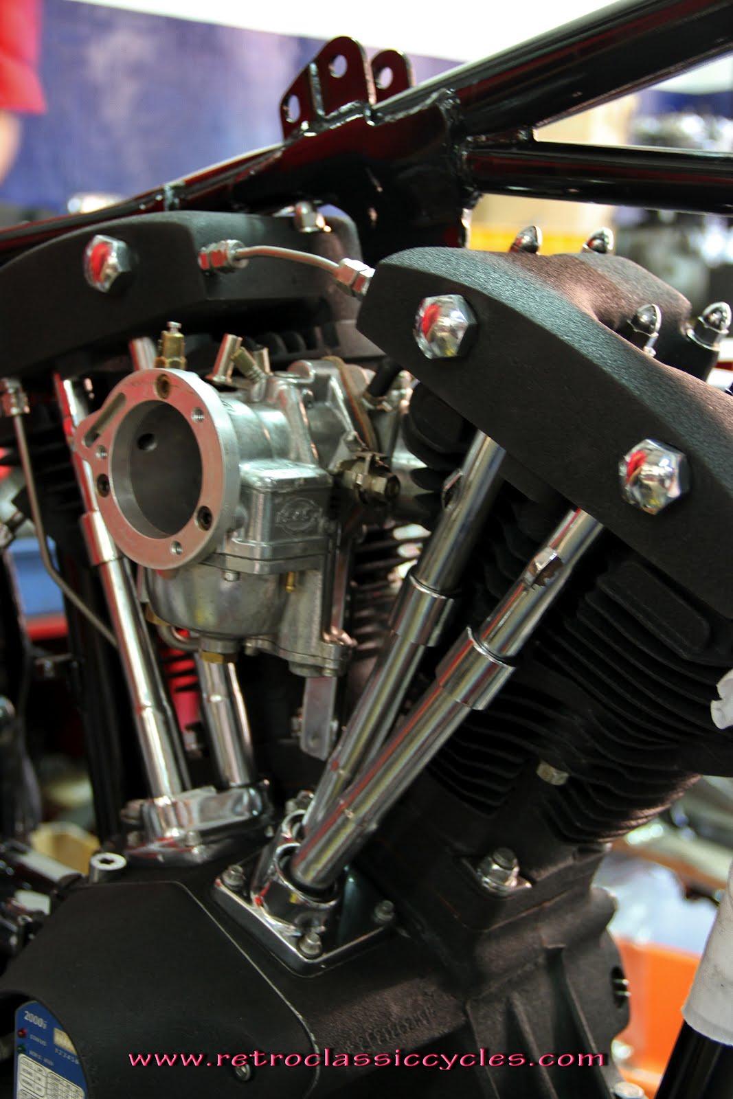 Shovel Motor Parts : Retrosyndicate shovelhead work