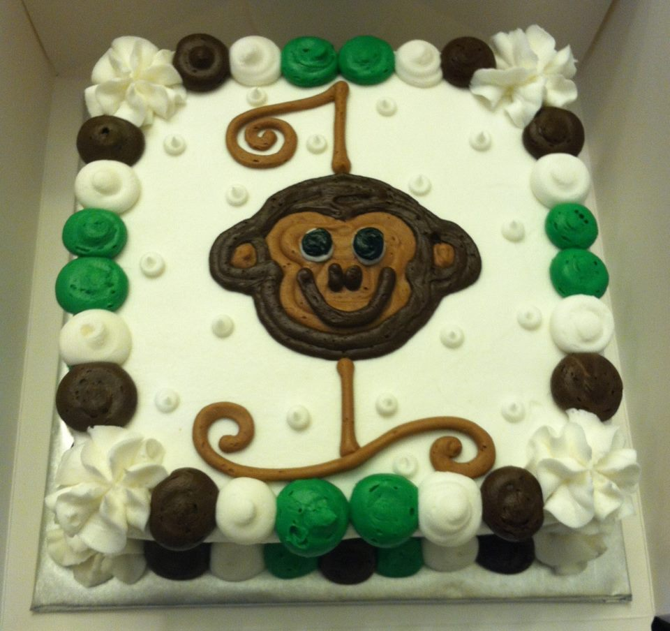 Monkey Ball Cake From Scratch