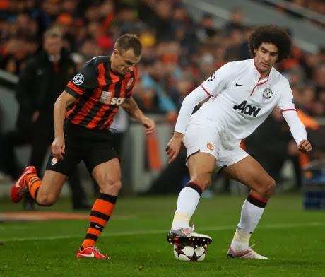 Video Shakhtar Donetsk vs Manchester United 1-1 Hasil Liga Champions 3 Oktober 2013