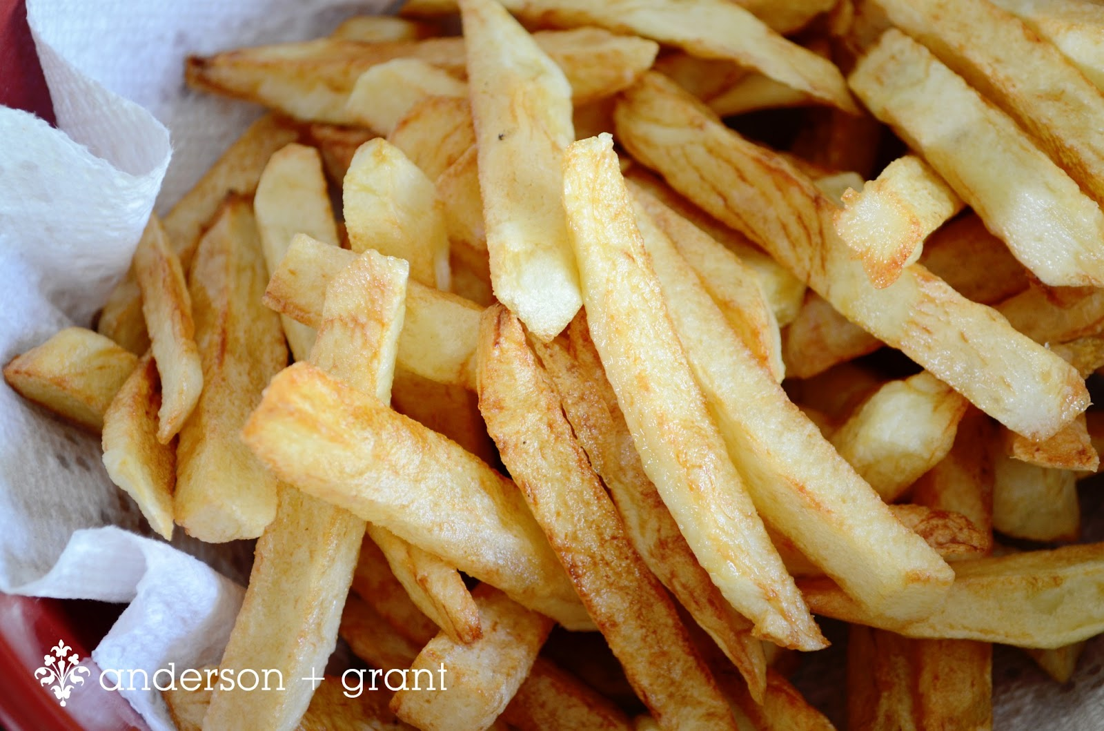 HOMEMADE FRENCH FRIES - anderson + grant