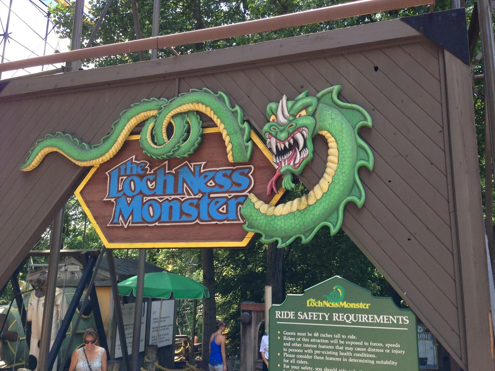 Blog Vacation Pics Loch Ness Monster Rollercoaster