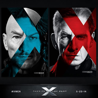x-men days of future past,poster