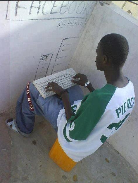 Redes sociais lvl África.