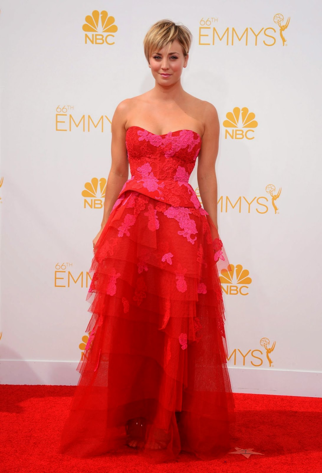 Kaley Cuoco – 2014 Primetime Emmy Awards in Los Angeles