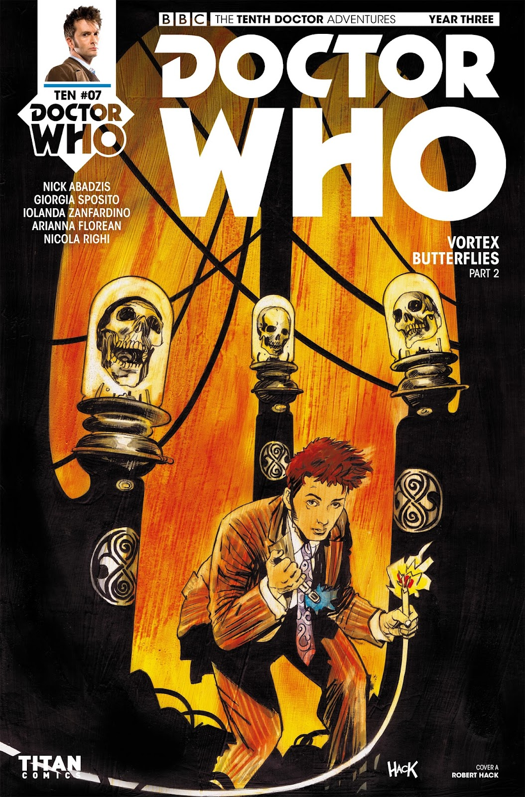 Doctor Who: The Tenth Doctor Year Three  7 Page 1
