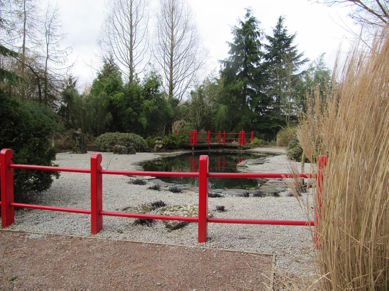 Oriental Style Garden At Broadview Gardens