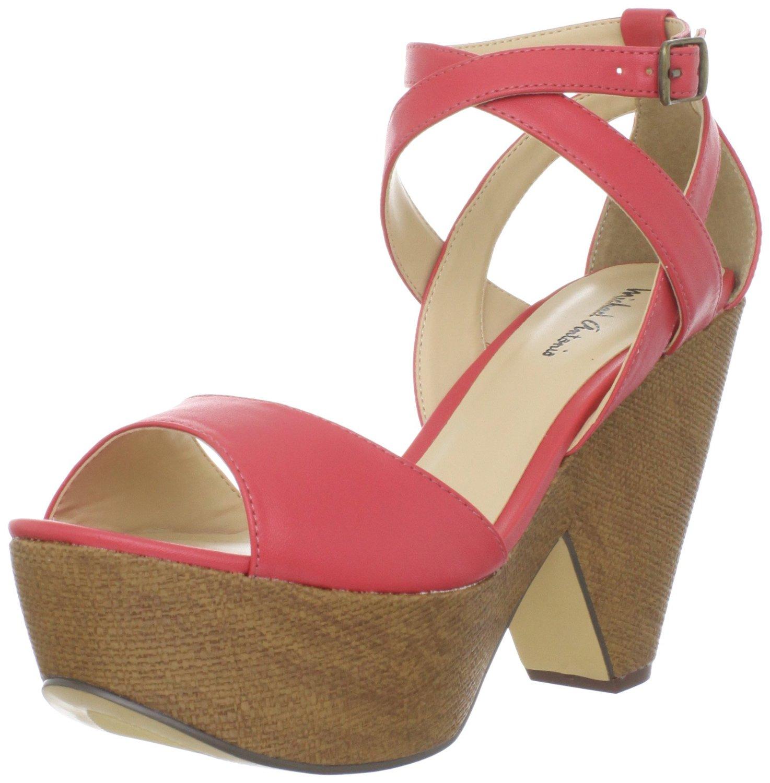 Original Fashion Trends Michael Antonio Womens Gota Wedge Sandals