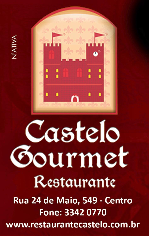 APOIO CULTURAL: CASTELO GOURMET