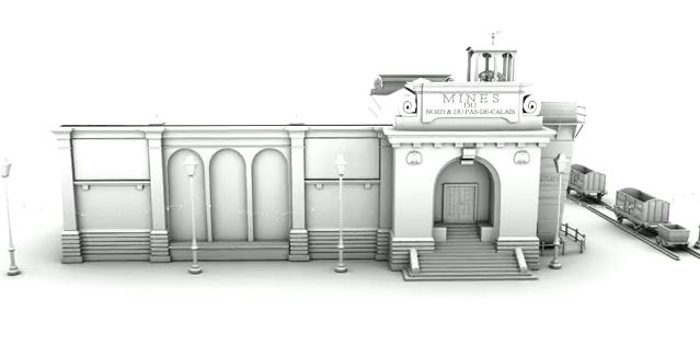 Le Palais des Mines en 3D