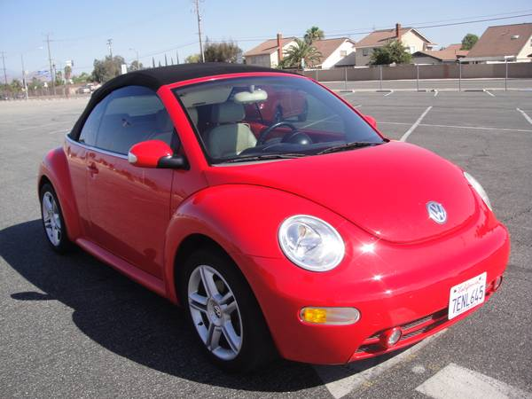 used 2004 new beetle turbo convertible by owner. Black Bedroom Furniture Sets. Home Design Ideas