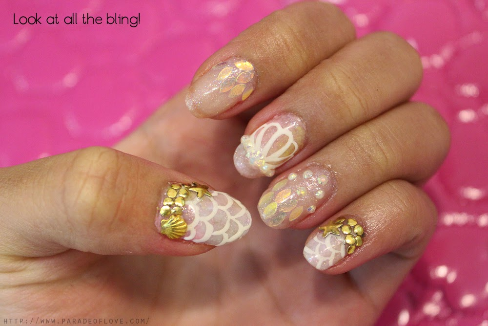 Ethereal Mermaid Nails with Dazzlette Nails: Review – Roanna Tan ...