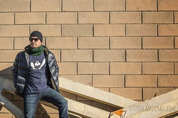Camiseta hombre Esquí Tienda de Camisetas Online QuieroCamisetass.com