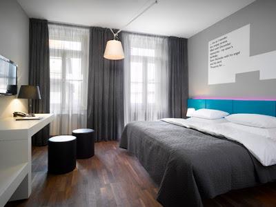 stylisches Design im Hotelzimmer