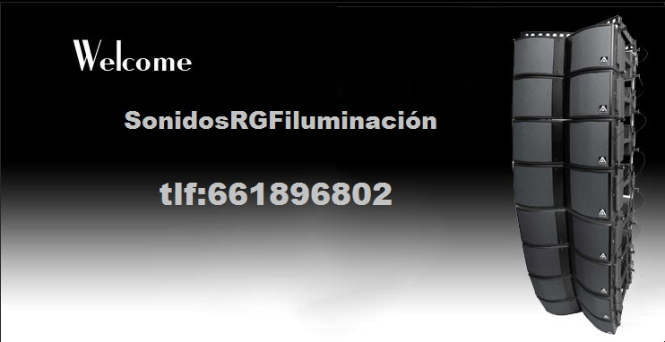 Sonidos RGF iluminacion