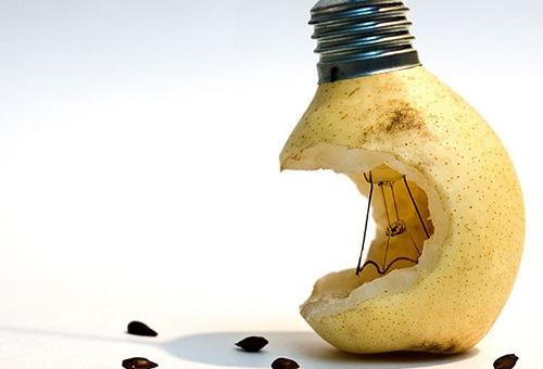 apple or bulb