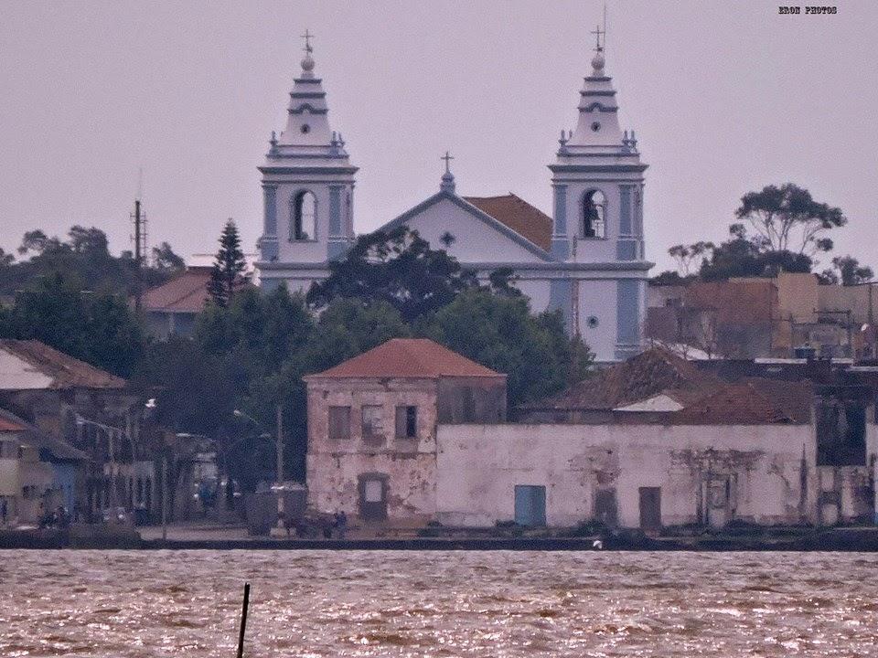 São Jose do Norte visto de Rio Grande