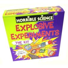 Horrible Science Explosive Experiments Kit from a good friend for