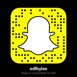 Follow @edfbylee on Snapchat!