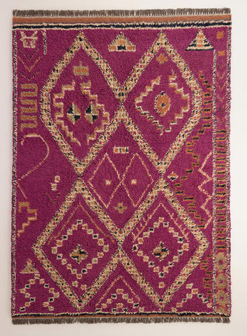 When I Went To See It In Person To Check Out The Quality I Was Really Happy  With It! I Love The Orange And Magenta Color Combo And The Pattern Is Great.